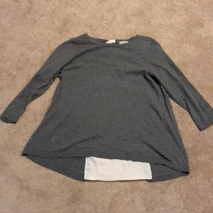 Brand new 3/4 length sleeve Loft Outlet top